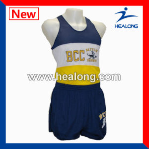 Healong Hot Sale Custom Sublimation Running Suit with High Quality pictures & photos