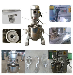 Stainless Steel Planetary Cake Mixer for Bakery pictures & photos