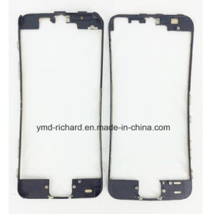 for iPhone LCD Front Touch Screen Plastic MID Bezel Frame with 3m Glue for iPhone 4G 4s 5 5g 5c 5s 6 6 Plus pictures & photos