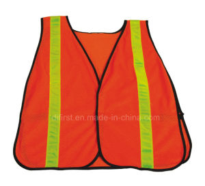 High Visibility Reflective Safety Vest with En471 (DFV1059) pictures & photos