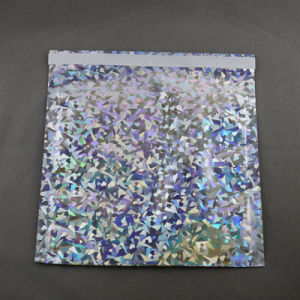 Holographic Foil Poly Mailer, C4 Size 9X12 Inch Mailer Bag