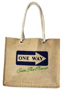 Popular Soft and Comfortable Jute Shopping Bags (hbjh-10) pictures & photos
