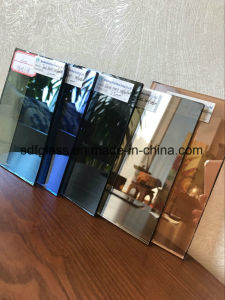 Construction Reflective Glass with Ce. ISO (4mm to 10mm)