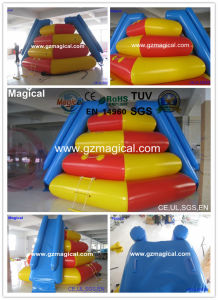 High Quality Inflatable Floating Water Slide Inflatable Climbing Water Toys (MIC-051) pictures & photos