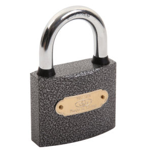 Water Proof Plastic Painted Iron Padlock pictures & photos
