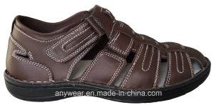 Men′s PU Sandals Shoes (815-4546) pictures & photos