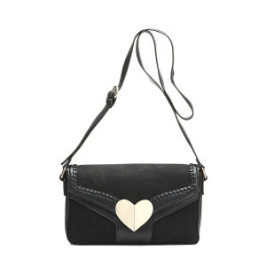 Fashion Heart Shape Ornament Women Cross-Body Bag (MBNO038096) pictures & photos