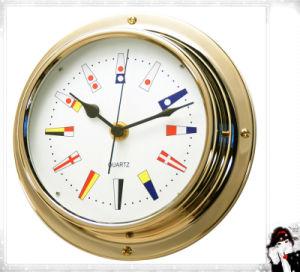 Gl198 Signal Flag Dial 180mm Nautical Quartz Clock pictures & photos