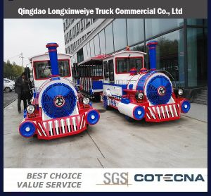 China Production Amusement Park Electric Tourist Train for Sale pictures & photos