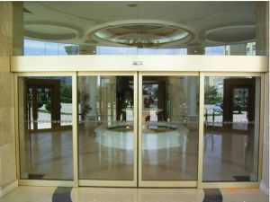 Automatic Sensor Glass Sliding Door (MBS-150) pictures & photos