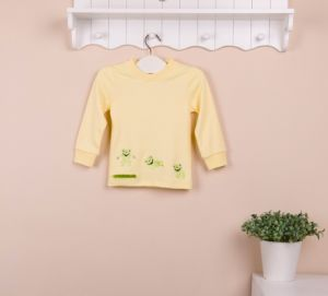 2013 Mom and Bab New Arrival Autumn Long Sleeves Kid′s T-Shirt, 100% Cotton Baby Clothes, Children′s T-Shirt