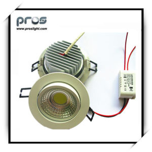 New Style LED Recessed Light/ Warm White LED Downlight (PL-D-COB3W) pictures & photos
