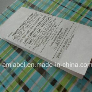 Special Printing Label/Flame Retardant Paper (AMPL2014022)