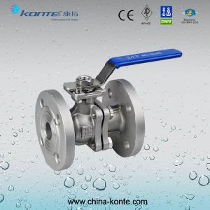 Stainless Steel Threaded 2PC Ball Valve pictures & photos