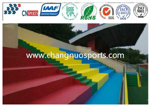 Non Slip Light Loading Polyurea Coating for Stadium Grandstand, Stair, Square pictures & photos