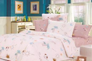 100% Cotton Duvet Cover Bedding Set pictures & photos