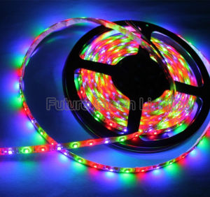 RGB 3528 LED Flexible Strip Light (FG-LS60S3528NW-RGB) pictures & photos
