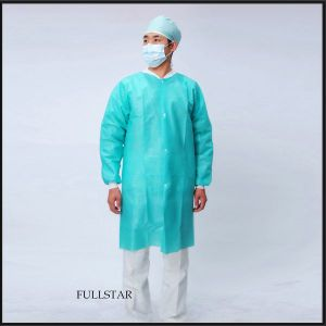 Disposable Non-Woven Labcoat Visitor Coat pictures & photos