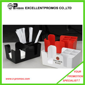 Promotional Eco-Friendly Plastic Napkin Holder (EP-B1225) pictures & photos