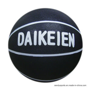 Good Quality Official Size Rubber Basketball pictures & photos