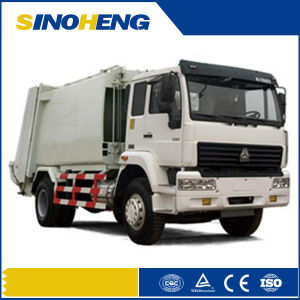 Sinotruk 10-16cbm Compressed Garbage Truck (QDZ5160ZYSA) pictures & photos