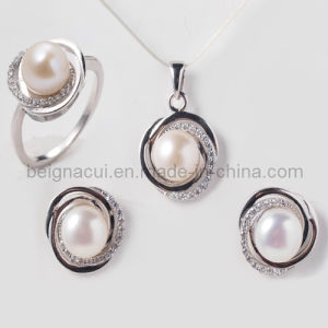 Fashion 2014 New Fresh Water Pearl Jewelry Wedding Jewelry Pearl Jewellery pictures & photos
