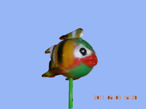 Fiberglass Water Spray Toy Colorful Fish pictures & photos