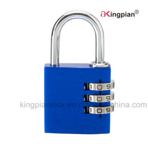 Colorful Aluminum Alloy Digital Code Combination Lock for Bag pictures & photos