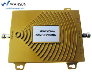 Wansuntone 17c61 GSM WCDMA 900MHz 2100MHz Dual Band Cell Phone 3G Signal Booster Repeater Amplifier