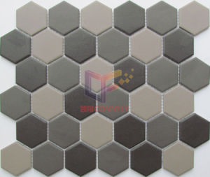 Matt Hexagon Ceramic Mosaic for Kitchen Splash (CST275) pictures & photos