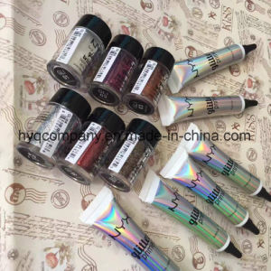 Nyx Cosmetics Glitter Primer + Nyx Cosmetics Face and Body Glitter pictures & photos