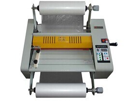 Double Side Hot Roll Laminator (380) pictures & photos