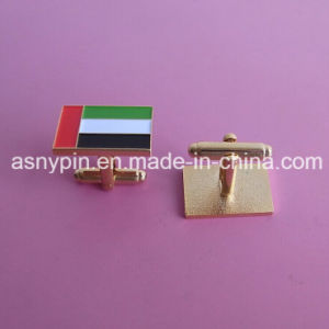 Cufflinks with UAE Flag Colors pictures & photos