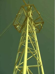 Power Hot DIP Galvanized of Transmission Line Tower pictures & photos