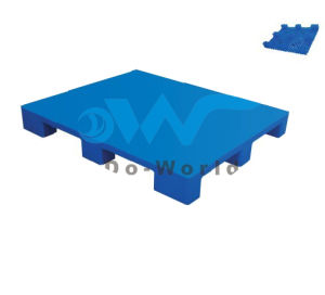 9 Legs Plastic Pallet (in steels) in Size L1200*W1000*H140mm pictures & photos