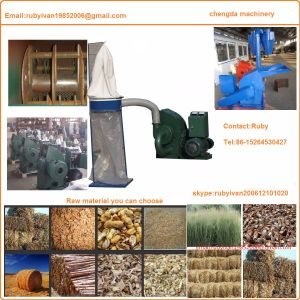 Corn Stalk Rice Straw, Wood Chip Biomass Hammer Mill pictures & photos