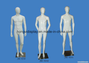 White Color Full-Body Male Mannequins for The Window Display pictures & photos