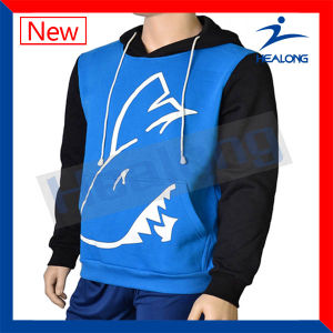 Healong Cheap Price Embroidery Logo Men′s Hoodies pictures & photos