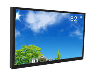 84inch Wall Mounted 2500nit LCD Screen pictures & photos