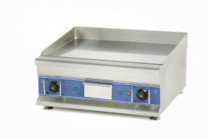 Counter Top Electric Griddle (Chrome surface) Eg600d pictures & photos