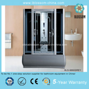 Competitive Price Grey Glass Complete Shower Cabin (BLS-9860GREY) pictures & photos
