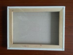 "Professional 8*10"" Pinewood Stretched Canvas (back stapled) pictures & photos"