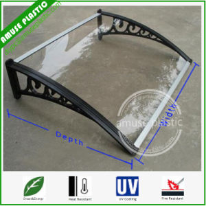 Customized Sizes Plastic Polycarbonate DIY Awning Canopy Sunshade Patio Covers pictures & photos