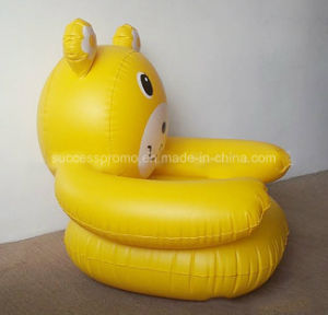 Inflatable Air Sofa PVC Flocked Armchair for Kids pictures & photos