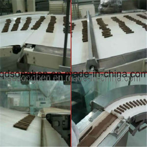 Chocolate Packing Machine with Tidying and Feeder pictures & photos