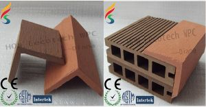 Engineered WPC Composite Decking End Cover (50S50) pictures & photos