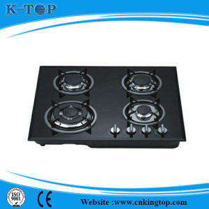 2015 Newest Design Ss Panel 4 Burner Gas Hob