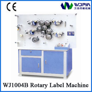 High Speed Roatry Ribbon Label Printing Machine (WJ1004B) pictures & photos
