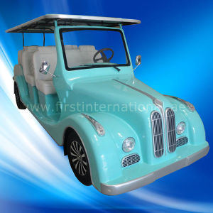 Whole Sale 8 Seaters Electric Shuttle Bus (Lt-S8. Fb) pictures & photos