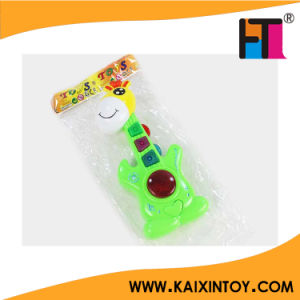 Cute Giraffe Music Instrument Cheap Plastic Toy Guitar Promotion Toy pictures & photos